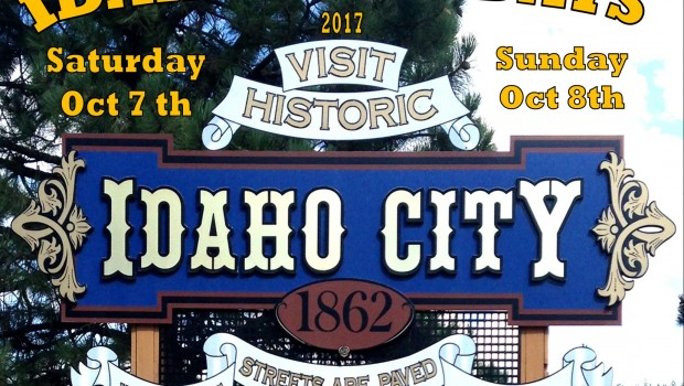 Idaho City Days Coming October 7th and 8th